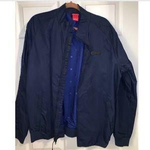Cool Nike Navy Blue Light Varsity Jacket